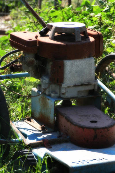 Photograph - Old Junky Lawn Mower by Doc Braham