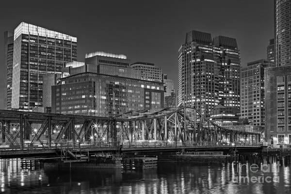 Photograph - Old Northern Bridge Boston Harbor by Susan Candelario