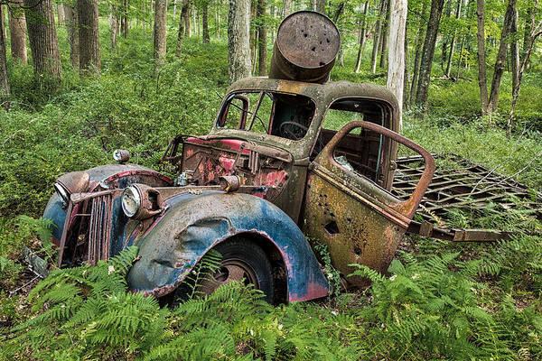 Photograph - Old Pickup by Sara Hudock