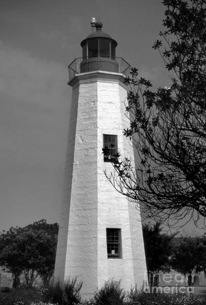 Virginia Lighthouse Photograph - Old Point Comfort Lighthouse by Skip Willits