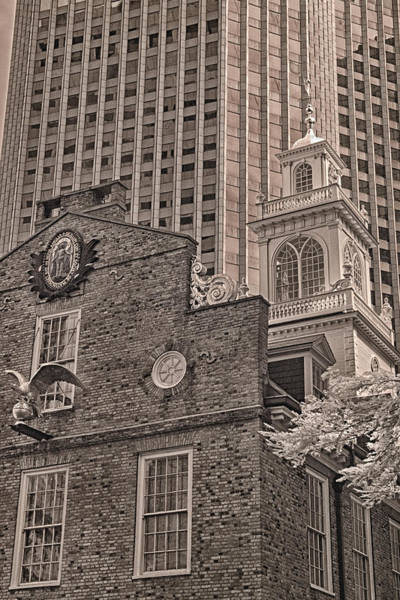 Photograph - Old State House by Joann Vitali