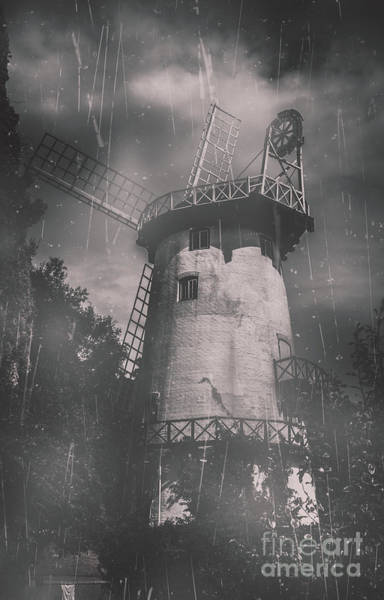 Photograph - Old Tower Mill Building. Historic Fine Art Photo by Jorgo Photography - Wall Art Gallery