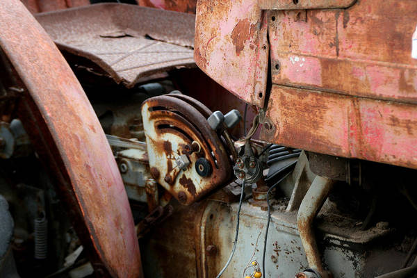 Photograph - Old Tractor by Doc Braham