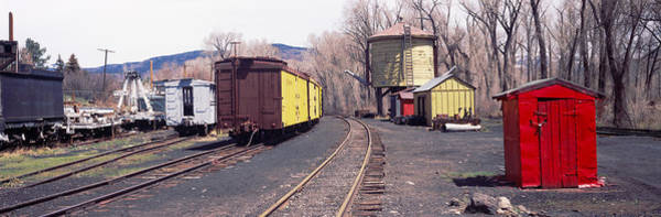 Chama Photograph - Old Train Terminal, Chama, New Mexico by Panoramic Images