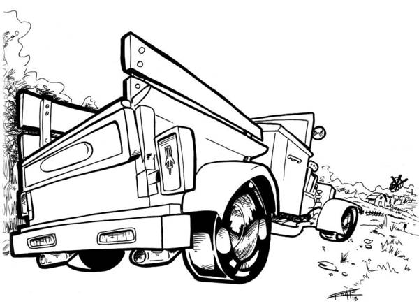 Ford Truck Drawings