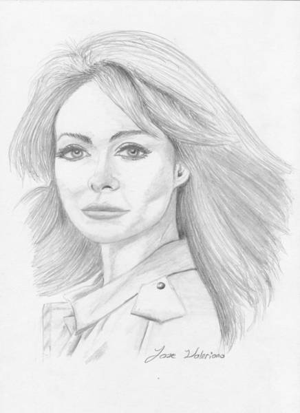 Drawing - Olivia Wilde by M Valeriano