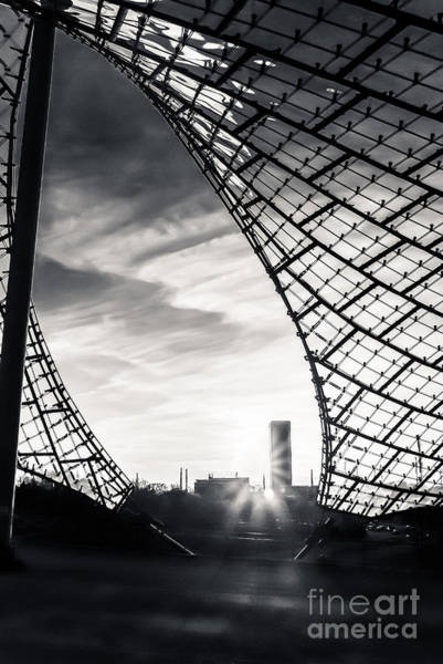 Photograph - Olympiastadium - The Roof  by Hannes Cmarits