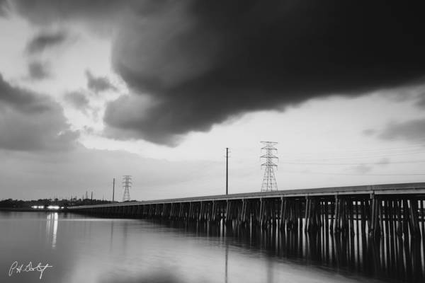 Lowcountry Digital Art - Ominous Cloud by Phill Doherty