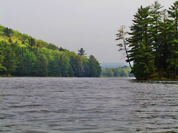 Poconos Wall Art - Photograph - On The Delaware River by Bill Cannon