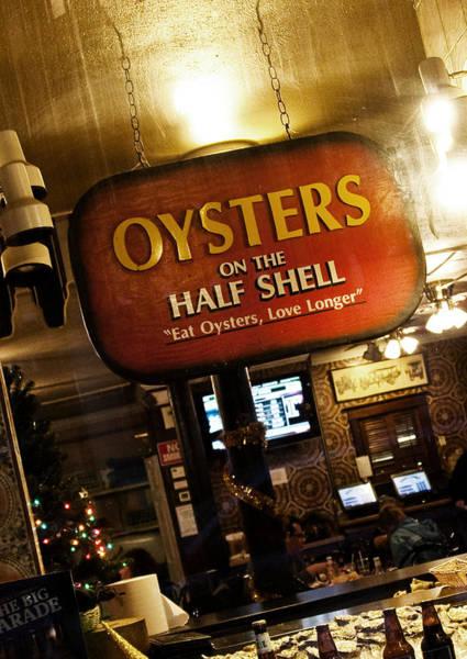 Louisiana Photograph - On The Half Shell by Scott Pellegrin