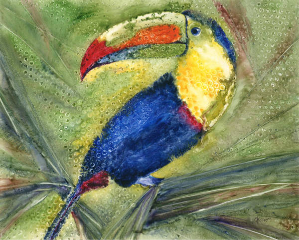 Wall Art - Painting - One Cant But Toucan by Marsha Elliott