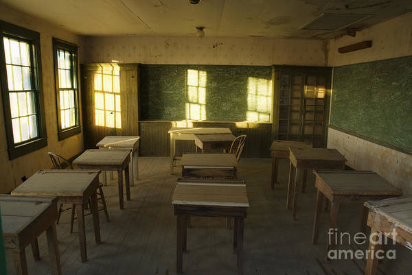 Photograph - One-room Schoolhouse At Ryan by Dan Suzio