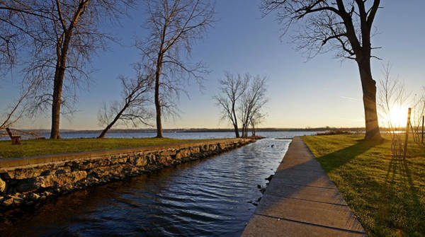Onondaga Photograph - Onondaga Lake - Syracuse New York by Brendan Reals