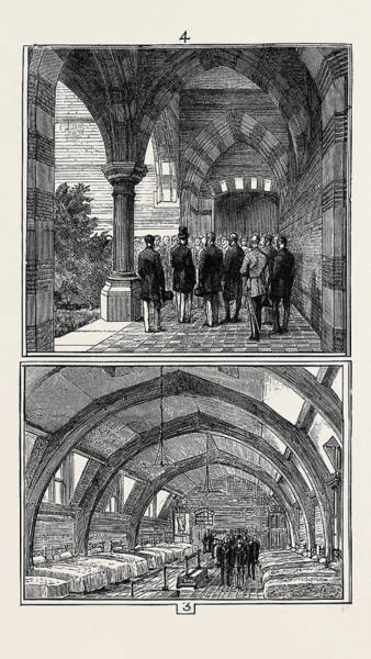 Wall Art - Drawing - Opening Of The Seamans Orphanage, Liverpool by English School