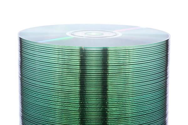 Roms Photograph - Optical Discs by Daniel Sambraus, Thomas Luddington/science Photo Library