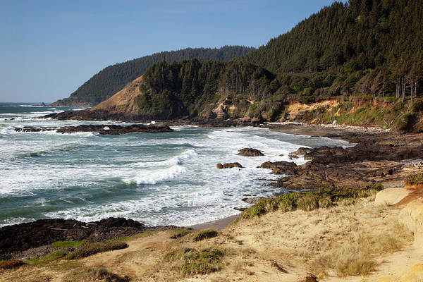 Strawberry Hills Wall Art - Photograph - Or, Oregon Coast, View From Strawberry by Jamie and Judy Wild