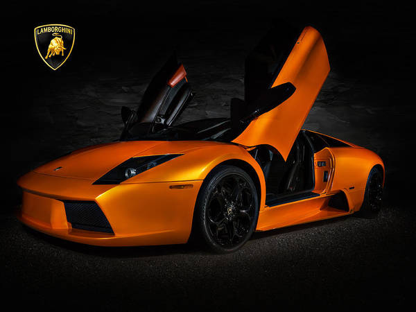 Wall Art - Digital Art - Orange Murcielago by Douglas Pittman
