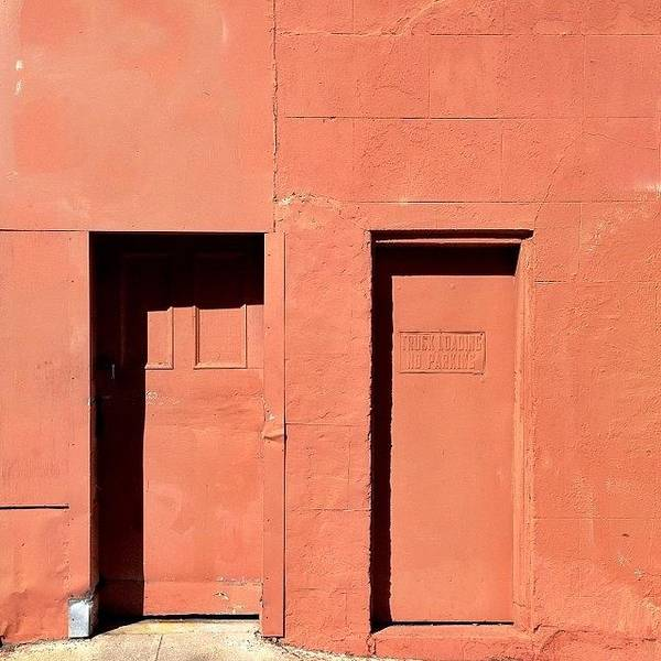 Wall Art - Photograph - Orange Wall by Julie Gebhardt