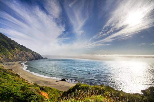Oregon Sand Dunes Photograph - Oregon Coastline by Debra and Dave Vanderlaan