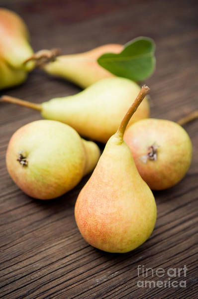 Wall Art - Photograph - Organic Pears by Viktor Pravdica