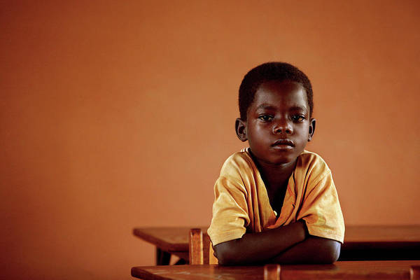 Classroom Photograph - Orphanage School by Mauro Fermariello/science Photo Library