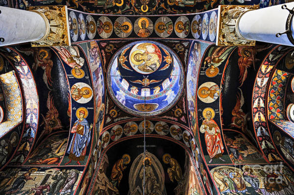 Mosaic Photograph - Orthodox Church Interior by Elena Elisseeva