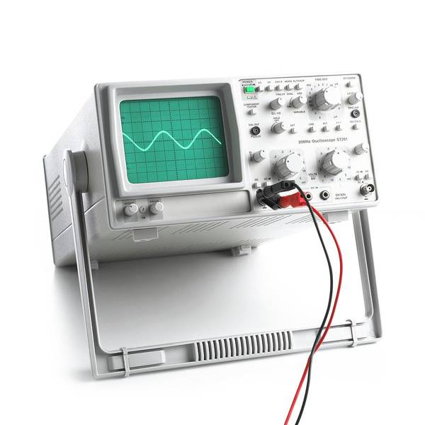 Current Photograph - Oscilloscope by Science Photo Library