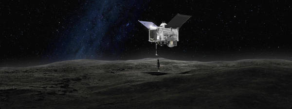 Rex Photograph - Osiris-rex Asteroid Mission by Nasa/gsfc/science Photo Library