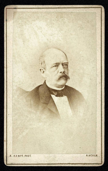 Wall Art - Photograph - Otto Eduard Leopold, Prinz Von Bismarck by Mary Evans Picture Library