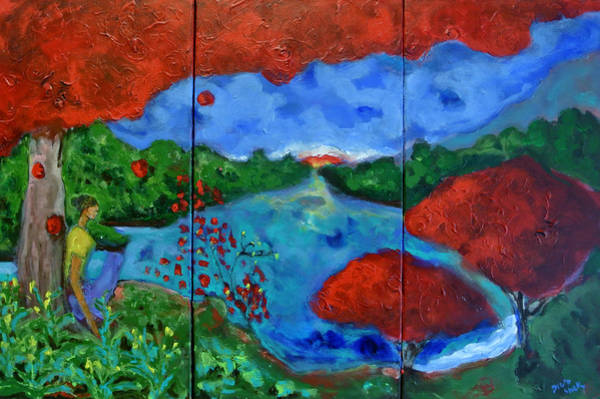Painting - Out Of Eden by Dilip Sheth