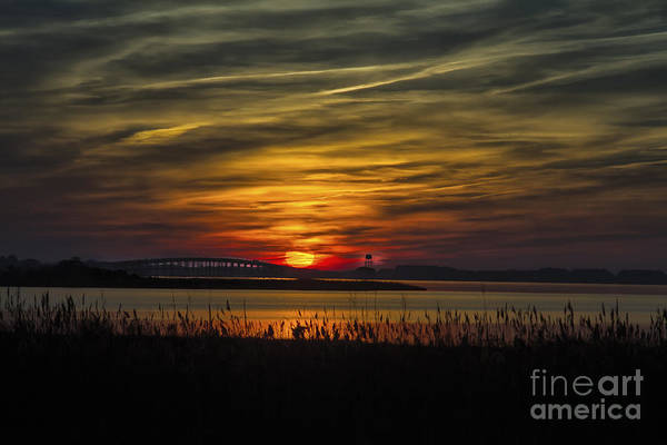 Photograph - Outer Banks Sunset by Ronald Lutz