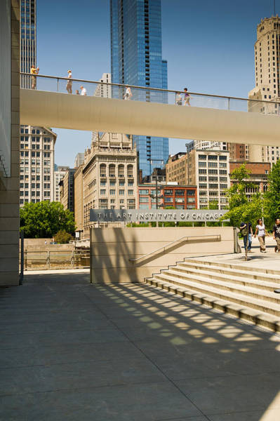 Photograph - Outside The Art Institute Of Chicago by Gary Eason