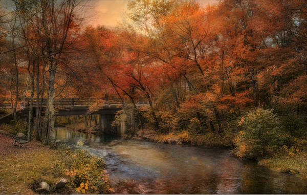 Photograph - Over The River by Robin-Lee Vieira