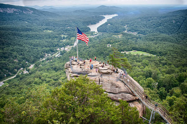 Photograph - Overlooking Chimney Rock And Lake Lure by Alex Grichenko