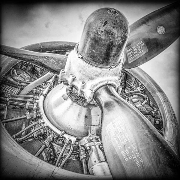 B24 Photograph - P-17 Prop by Mike Burgquist