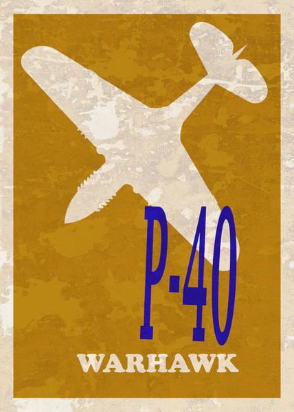Wall Art - Photograph - P-40 Warhawk by Mark Rogan