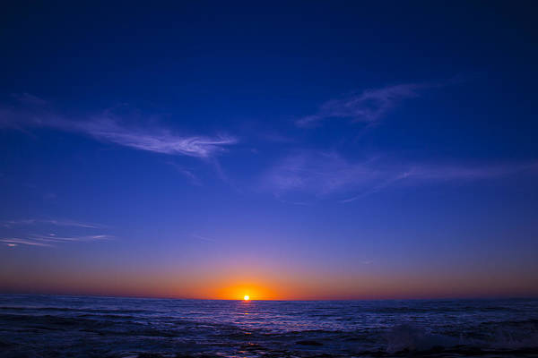 Sun Set Photograph - Pacific Sunset by Garry Gay