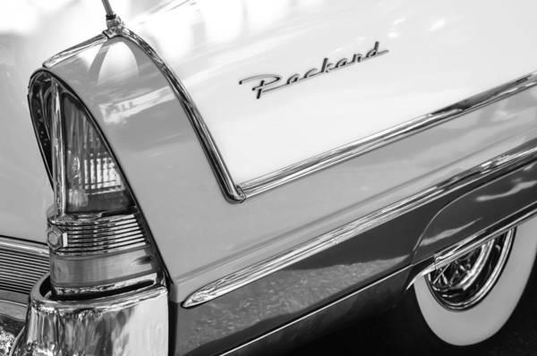 Tail Light Photograph - Packard Taillight by Jill Reger