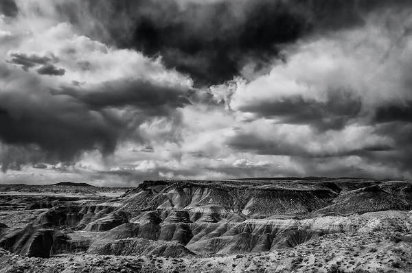 Painted Desert From Lacey Point Art Print