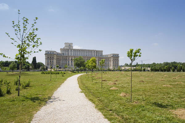 Ceausescu Wall Art - Photograph - Palace Of The Parliament by Ioan Panaite