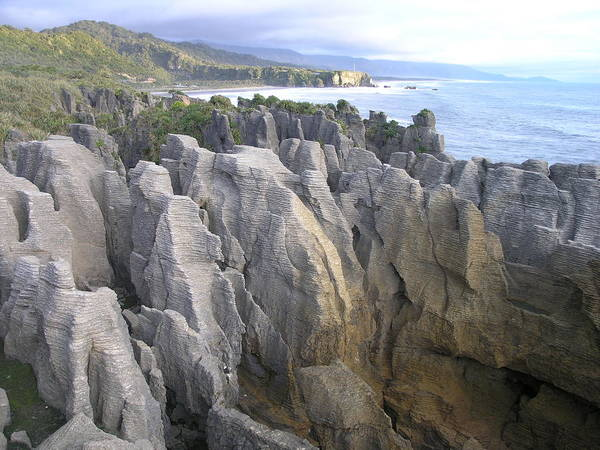 Photograph - Pancake Rocks by Olaf Christian