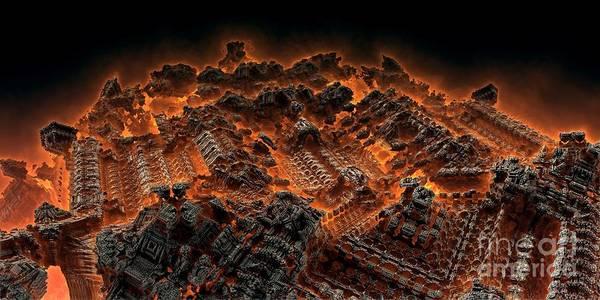 Digital Art - Pandemonium by Bernard MICHEL