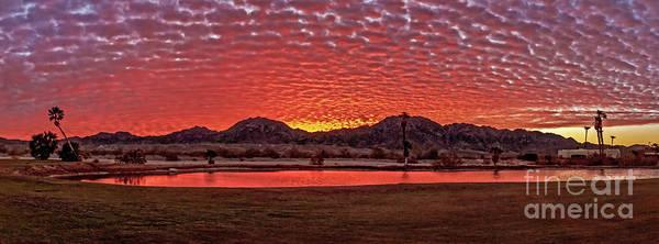 Wall Art - Photograph - Panoramic Sunrise by Robert Bales