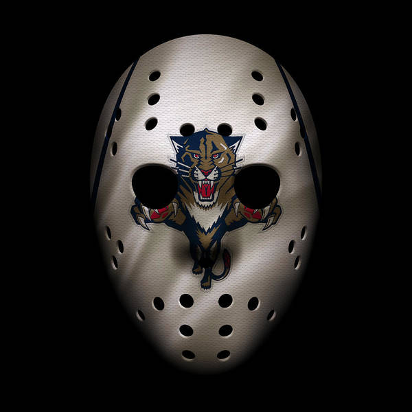 Wall Art - Photograph - Panthers Jersey Mask by Joe Hamilton