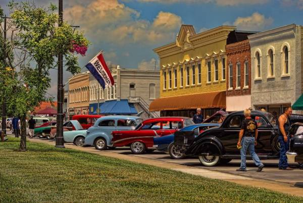 Photograph - Midwest Car Show by Tim McCullough