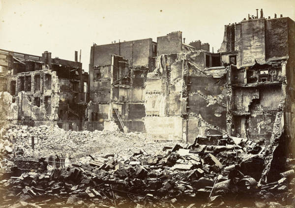 Wall Art - Photograph - Paris, 1872 by Granger