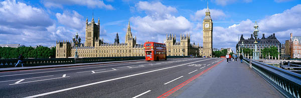 Houses Of Parliament Wall Art - Photograph - Parliament Big Ben London England by Panoramic Images