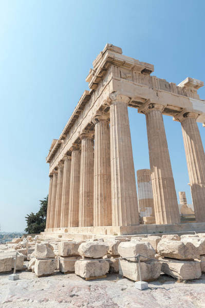 Jim Temple Photograph - Parthenon, Acropolis, Athens, Greece by Jim Engelbrecht