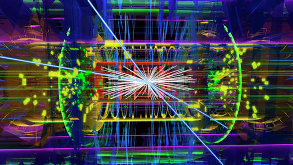 Particle Physics Wall Art - Photograph - Particle Collision Event by Cern