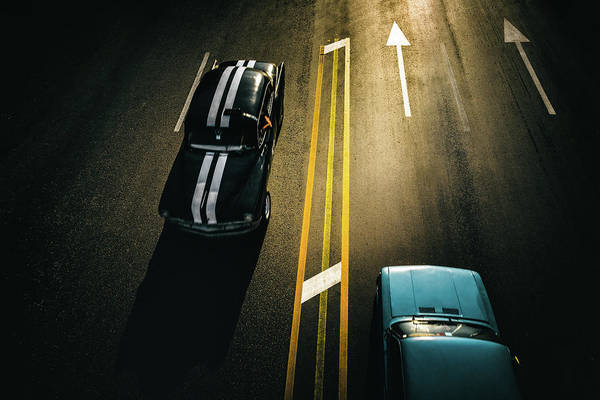 Wall Art - Photograph - Passing Cars by Yancho Sabev